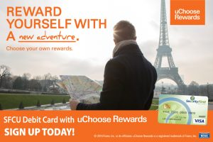 uChoose Rewards promotional banner